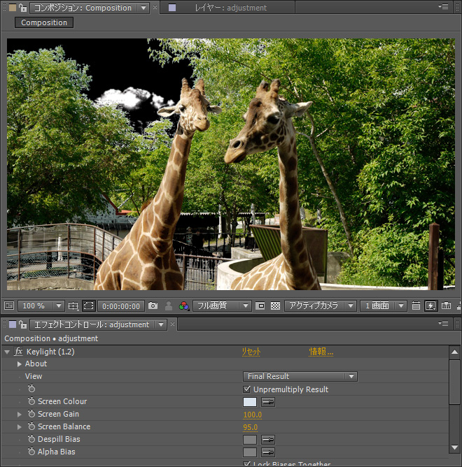 Keylight 1 2 after effects